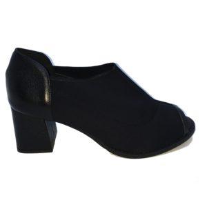Sapato peeptoe neoprene